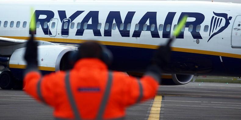 Ryanair a encore trouvé un endroit pour mettre de la publicité