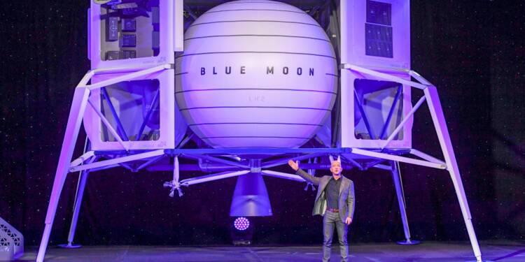 Découvrez le spectaculaire alunisseur de Jeff Bezos