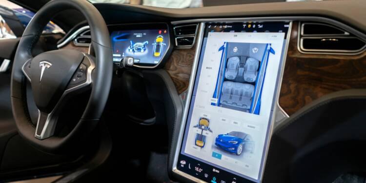 Tesla transforme ses voitures en consoles de jeux vidéo