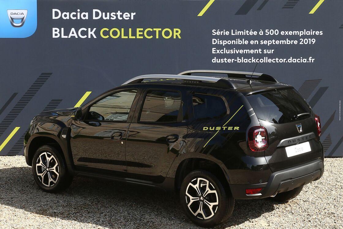 Resultado de imagen de dacia duster black collector
