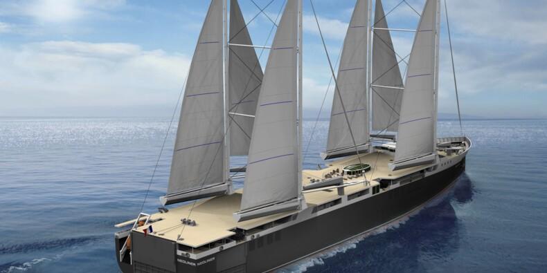 Les cargos à voile de Neoline veulent verdir le transport maritime