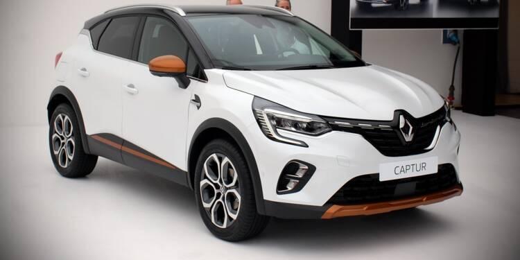 """Renault Captur hybride rechargeable : les infos sur la version """"E-Tech plug-in"""""""