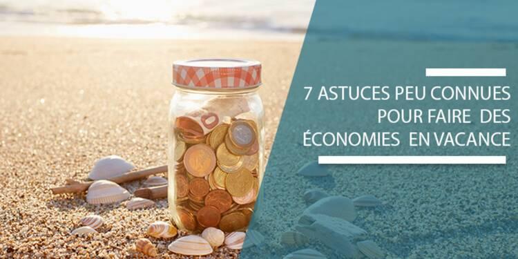Hébergement, musées, mobiles... 7 astuces peu connues pour économiser en vacances