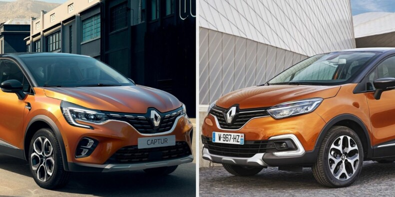Le nouveau Renault Captur 2 face à l'ancien
