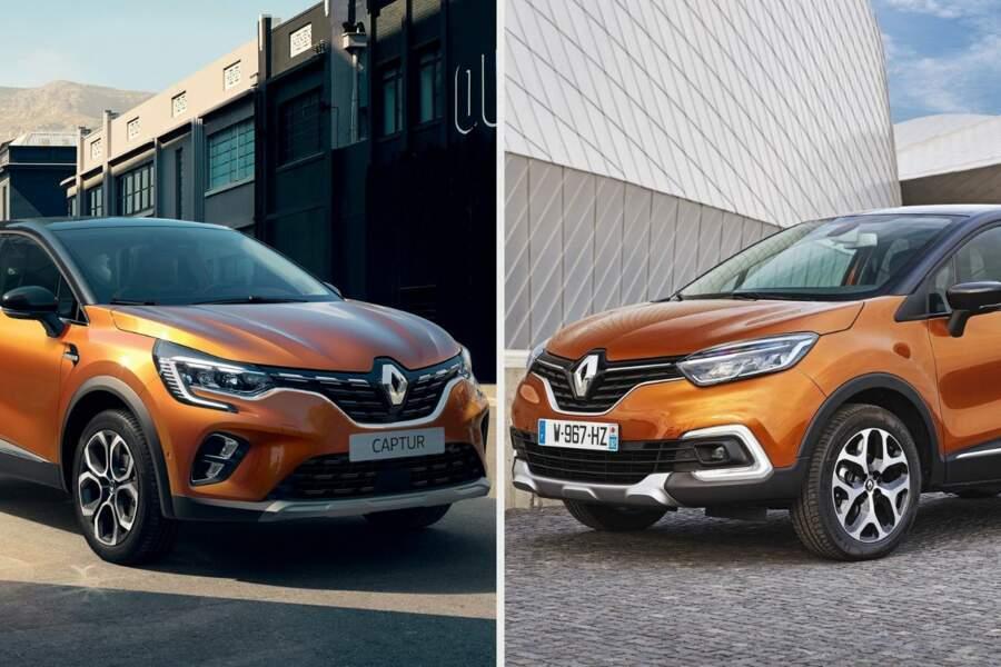 Renault Captur 2 vs ancien, quelles sont les nouveautés ?