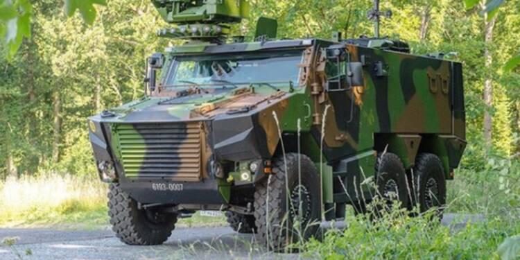 L'armée de Terre reçoit les premiers exemplaires du Griffon, son nouveau blindé