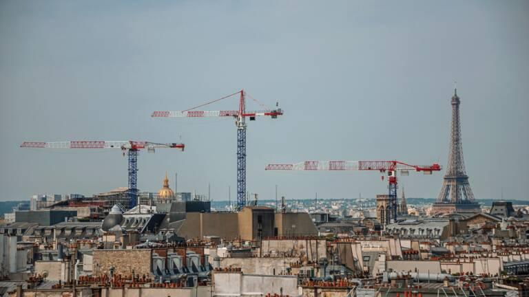 L Impressionnante Carte Des 7 300 Chantiers Parisiens Capital Fr