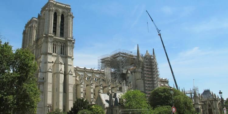 Notre-Dame : déjà 20 millions d'euros de travaux, mais toujours un risque d'effondrement