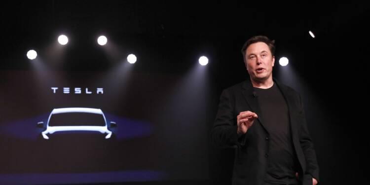 Elon Musk dévoile un surprenant pick-up Tesla électrique ultra-blindé