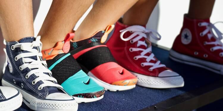 Sneakers en séries limitées : un business savamment