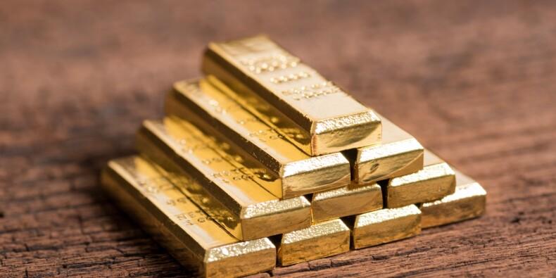 L'or décolle, la baisse des taux d'intérêt de la banque centrale des Etats-Unis se précise
