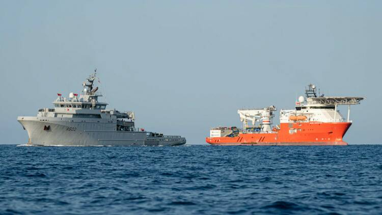 Comment le Seabed Constructor a retrouvé le sous-marin Minerve au fond de la mer