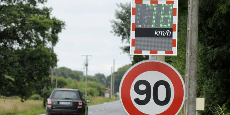 Le gouvernement freine-t-il le retour aux 90 km/h ?