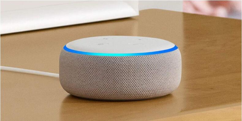 Soldes Amazon : -25% sur l'enceinte connectée Echo Dot