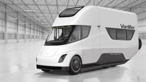 Le camion de Tesla transformé en camping-car électrique !