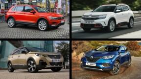 Peugeot 3008, Renault Captur... : les 10 SUV les plus vendus en juillet
