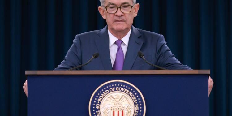 """La Fed veut garder """"ses options ouvertes"""" sur l'évolution des taux"""