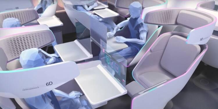Voilà comment Airbus imagine l'intérieur de ses avions en 2030