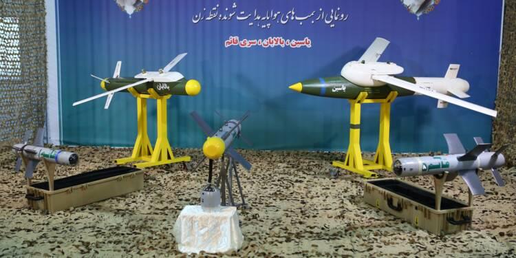 Yassin, Balaban et Ghaem... l'Iran dévoile ses nouveaux missiles téléguidés