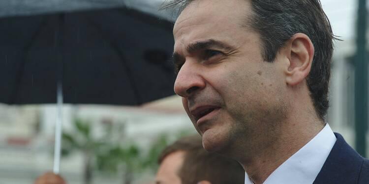 Grèce: le Premier ministre Kyriakos Mitsotakis engage le virage à droite