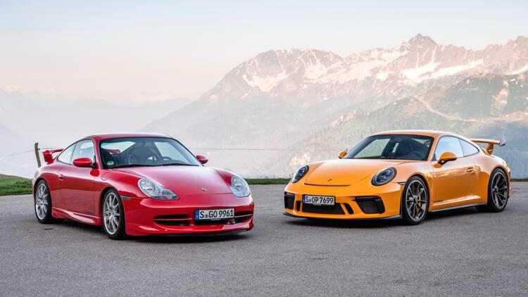 Porsche 911 GT3 : 20 ans de carrière en images