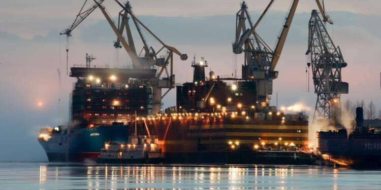 """La nouvelle centrale nucléaire flottante russe fait craindre un """"Tchernobyl sur glace"""""""