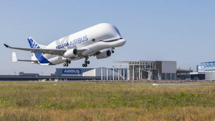 Le Beluga XL est trop grand pour certains hangars d'Airbus