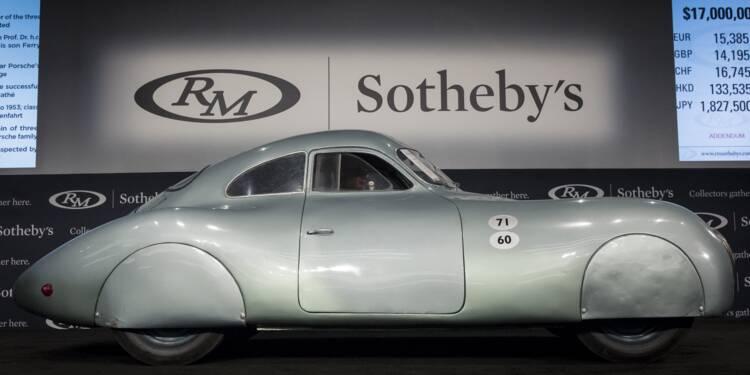 La vente aux enchères de la première Porsche de l'histoire tourne à la catastrophe