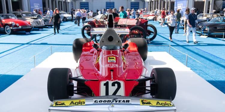 Formule 1 : la Ferrari 312 T de Niki Lauda vendue 6 millions de dollars aux enchères
