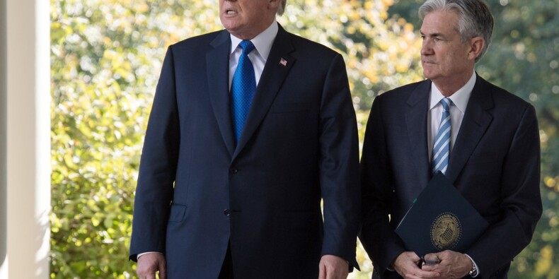 Le problème de l'économie américaine? La Fed pas le commerce, selon Trump