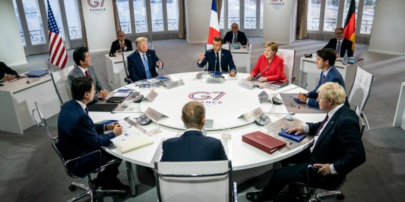 G7 : rencontre Trump/Johnson, Iran et manifestations annulées pour cette deuxième journée