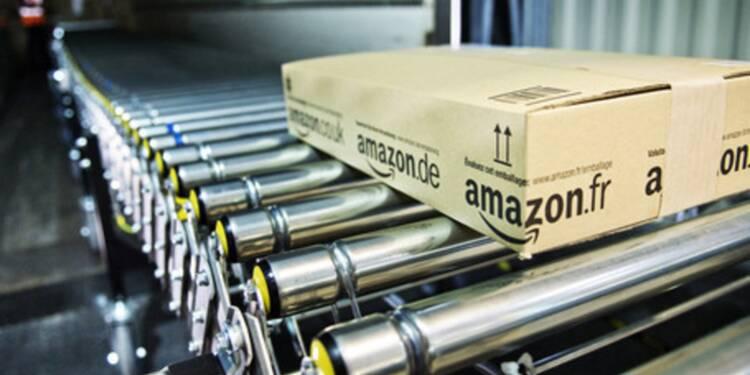 Chez Amazon à Brétigny, 4.000 robots et 3.000 salariés travaillent jour et nuit