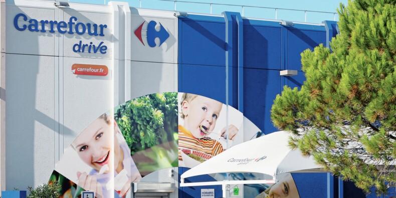 """Carrefour propose des """"courses à la voix"""" avec l'assistant Google, grande première"""