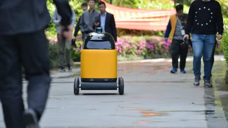 Les robots-livreurs autonomes étaient contrôlés depuis la Colombie pour 2 dollars de l'heure