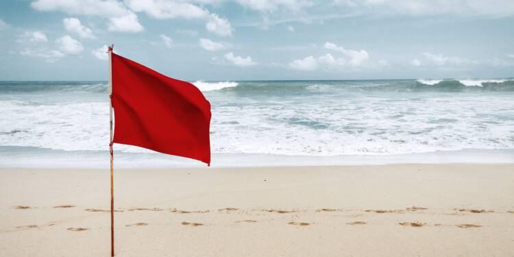 Une nageuse verbalisée pour s'être baignée sous drapeau rouge !