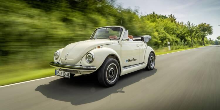 classic high fashion wholesale price Volkswagen transforme son ancienne Coccinelle en voiture ...