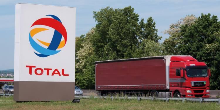 Total a failli basculer dans le rouge à cause de la chute de l'or noir