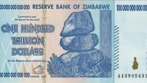 Robert Mugabe : le billet de 100.000 milliards de dollars, c'était lui !