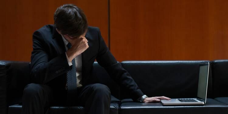 """Bourse : """"Un bond de l'indice de la peur pourrait donner le coup d'envoi d'une chute des actions"""""""