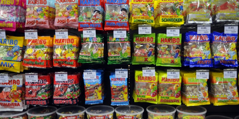 Haribo va vendre des bonbons en forme de monuments français