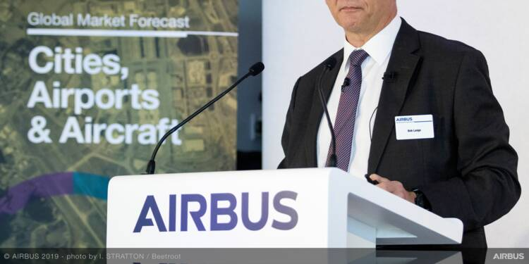 Airbus prévoit un besoin de 39.000 avions neufs d'ici 2038