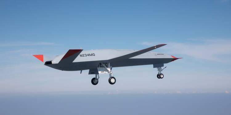 Vol réussi pour le MQ-25, le premier drone ravitailleur d'essence au monde de l'US Navy