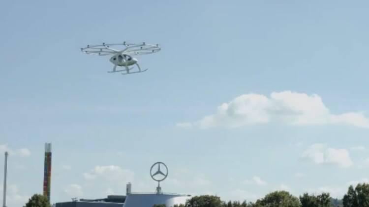 Nouveau test réussi pour le taxi volant Volocopter