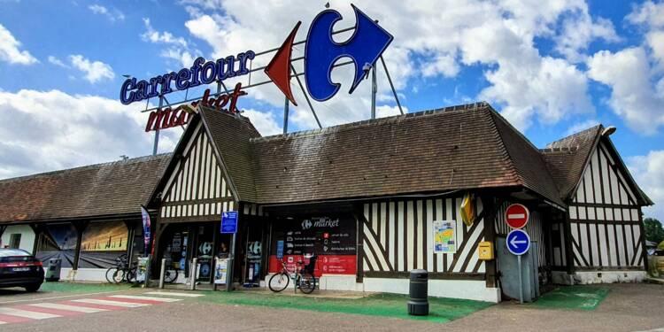 """Carrefour, un rachat de Casino serait """"un scénario attractif""""... sous condition : le conseil Bourse du jour"""