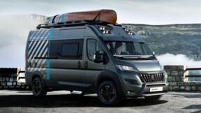 Peugeot Boxer 4x4 Concept : un camping-car paré pour l'aventure