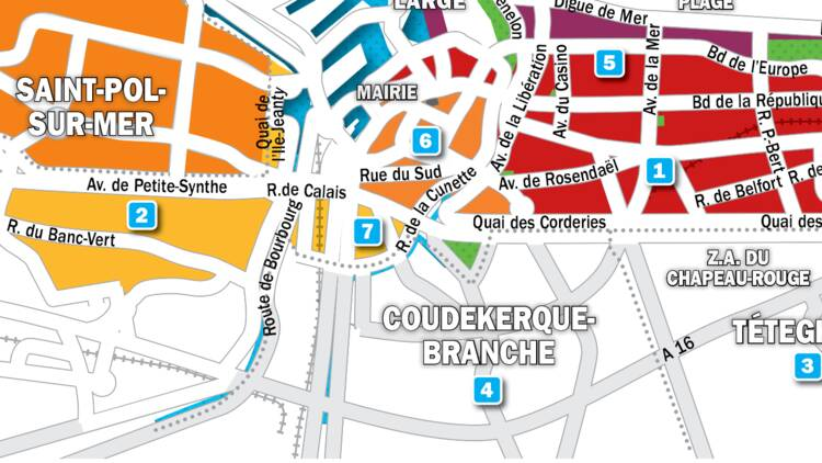 Immobilier à Dunkerque : la carte des prix 2019