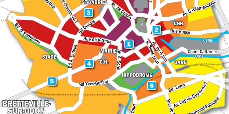 Immobilier à Caen : la carte des prix 2019