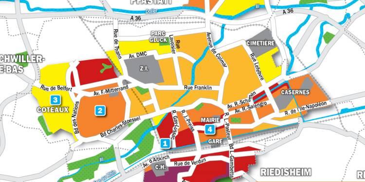 Immobilier à Mulhouse : la carte des prix 2019