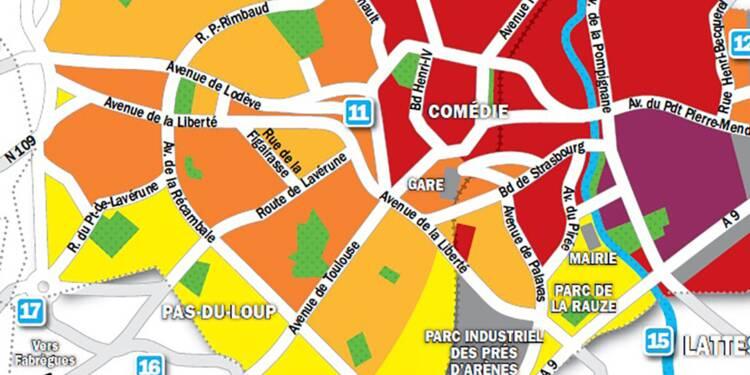 Immobilier à Montpellier : la carte des prix 2019