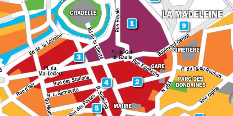 Immobilier à Lille : la carte des prix 2019
